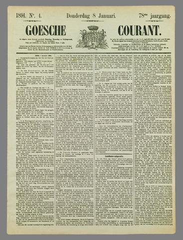 Goessche Courant 1891-01-08