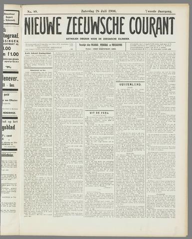 Nieuwe Zeeuwsche Courant 1906-07-28