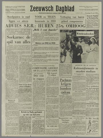 Zeeuwsch Dagblad 1959-04-29