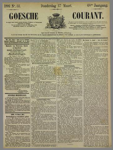 Goessche Courant 1881-03-17