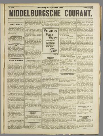 Middelburgsche Courant 1927-10-17