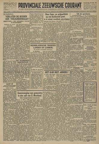 Provinciale Zeeuwse Courant 1946-03-28