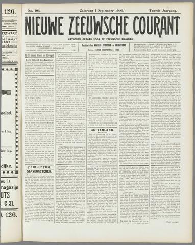 Nieuwe Zeeuwsche Courant 1906-09-01