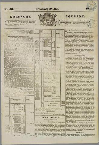 Goessche Courant 1849-05-28