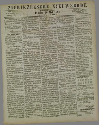 Zierikzeesche Nieuwsbode 1891-05-26