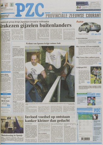 Provinciale Zeeuwse Courant 2004-04-09