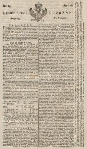 Middelburgsche Courant 1763-03-08