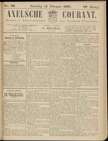 Axelsche Courant 1903-02-21