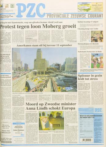 Provinciale Zeeuwse Courant 2003-09-12