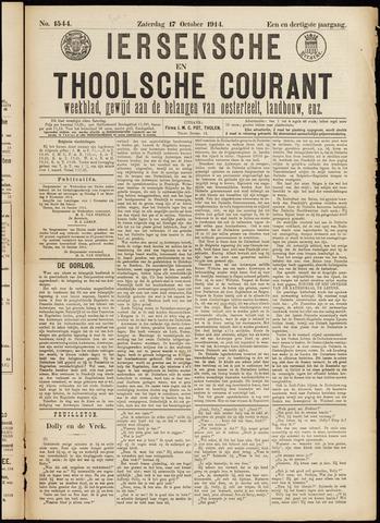 Ierseksche en Thoolsche Courant 1914-10-17