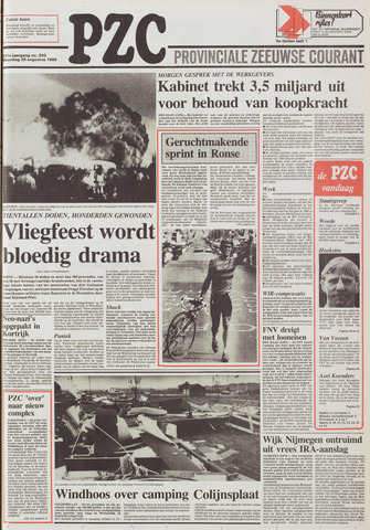 Provinciale Zeeuwse Courant 1988-08-29