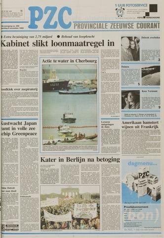 Provinciale Zeeuwse Courant 1992-11-09