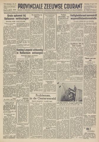 Provinciale Zeeuwse Courant 1948-04-19