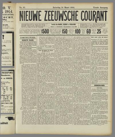 Nieuwe Zeeuwsche Courant 1914-03-14