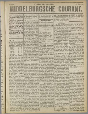 Middelburgsche Courant 1922-06-23
