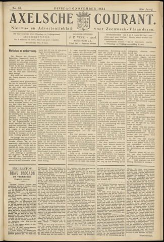 Axelsche Courant 1934-11-06