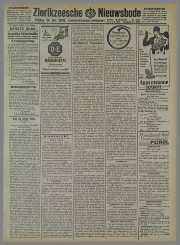 Zierikzeesche Nieuwsbode 1930-01-24