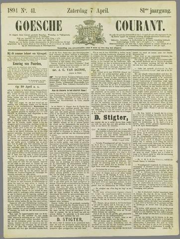Goessche Courant 1894-04-07
