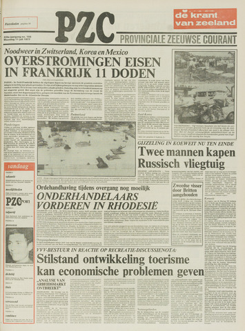 Provinciale Zeeuwse Courant 1977-07-11