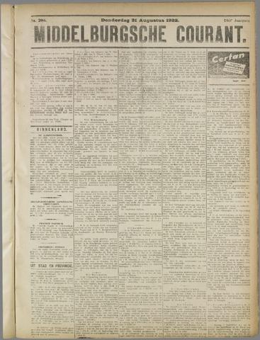 Middelburgsche Courant 1922-08-31