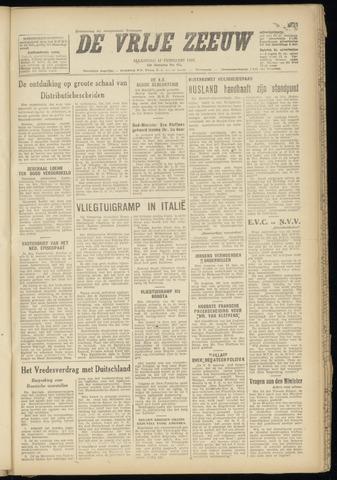 de Vrije Zeeuw 1947-02-17