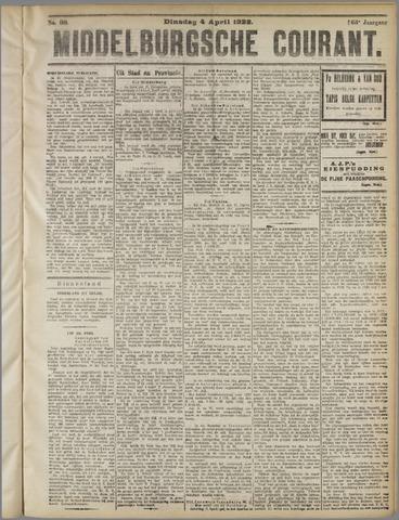 Middelburgsche Courant 1922-04-04