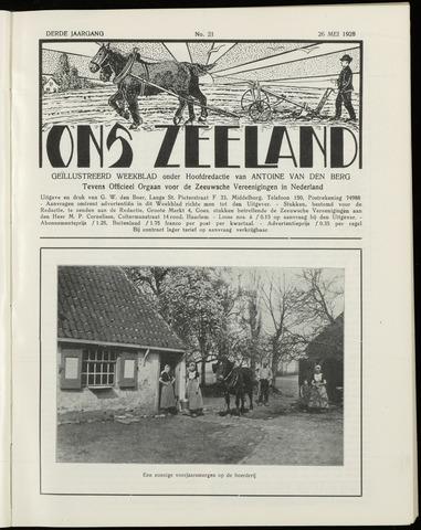 Ons Zeeland / Zeeuwsche editie 1928-05-26