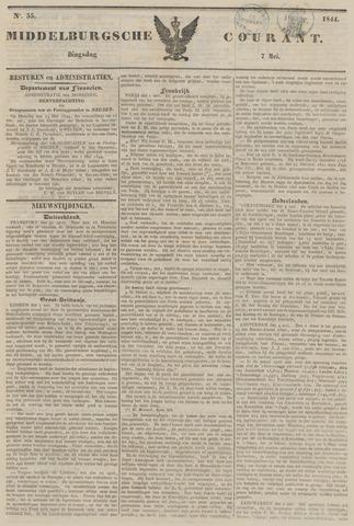 Middelburgsche Courant 1844-05-07