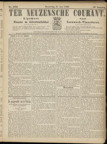 Ter Neuzensche Courant. Algemeen Nieuws- en Advertentieblad voor Zeeuwsch-Vlaanderen / Neuzensche Courant ... (idem) / (Algemeen) nieuws en advertentieblad voor Zeeuwsch-Vlaanderen 1900-06-21
