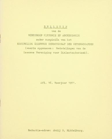 Nehalennia 1971-03-01