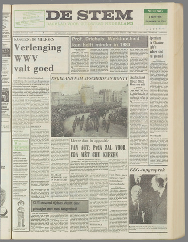 de Stem 1976-04-02