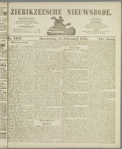 Zierikzeesche Nieuwsbode 1855-02-15