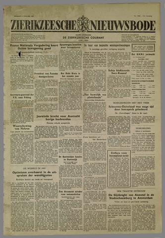 Zierikzeesche Nieuwsbode 1955-01-04