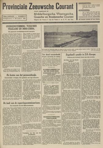 Provinciale Zeeuwse Courant 1941-03-07