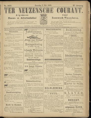 Ter Neuzensche Courant. Algemeen Nieuws- en Advertentieblad voor Zeeuwsch-Vlaanderen / Neuzensche Courant ... (idem) / (Algemeen) nieuws en advertentieblad voor Zeeuwsch-Vlaanderen 1897-05-08