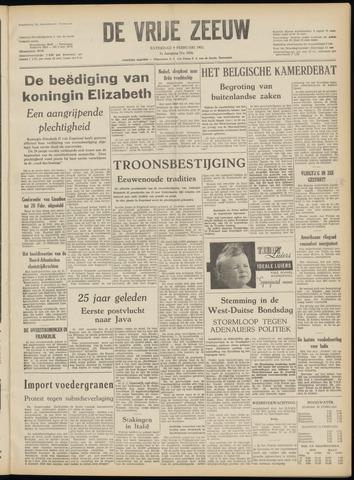 de Vrije Zeeuw 1952-02-09