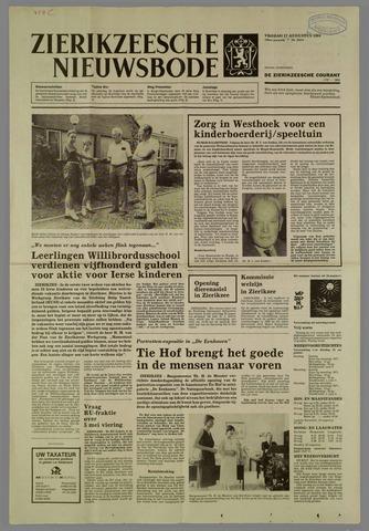 Zierikzeesche Nieuwsbode 1984-08-17