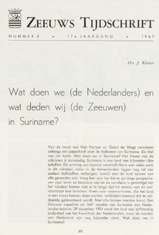 Zeeuws Tijdschrift 1967-08-15