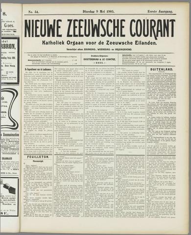Nieuwe Zeeuwsche Courant 1905-05-09