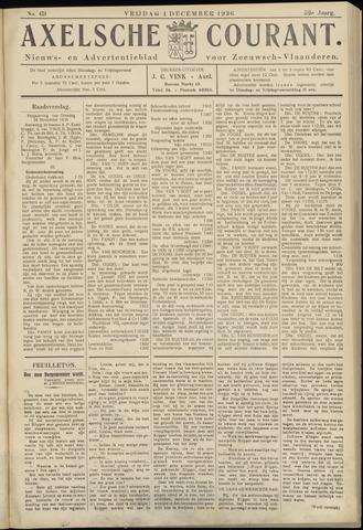 Axelsche Courant 1936-12-04