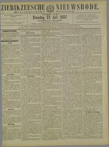 Zierikzeesche Nieuwsbode 1907-07-23