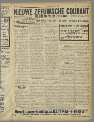 Nieuwe Zeeuwsche Courant 1921-07-12