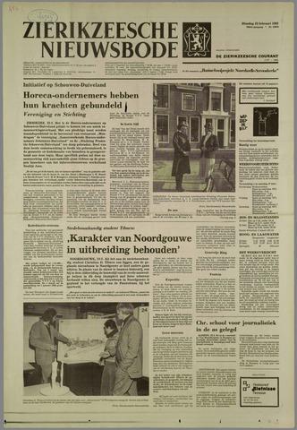 Zierikzeesche Nieuwsbode 1982-02-23