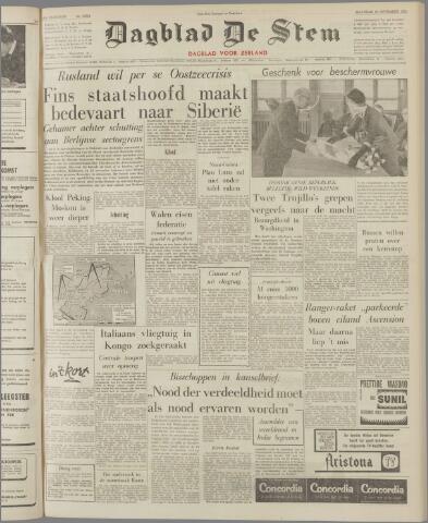de Stem 1961-11-20