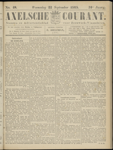 Axelsche Courant 1915-09-22