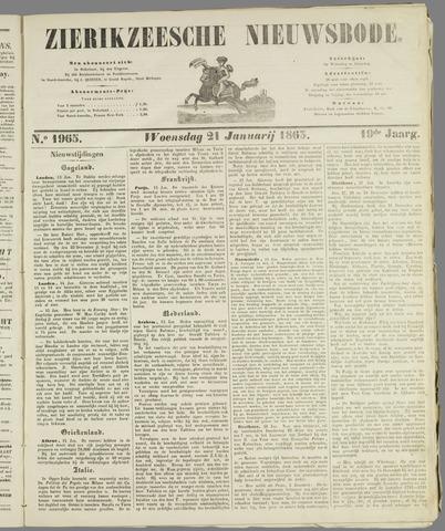 Zierikzeesche Nieuwsbode 1863-01-21
