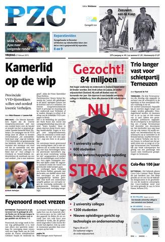 Provinciale Zeeuwse Courant 2015-02-27