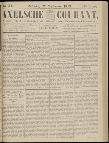 Axelsche Courant 1913-09-27
