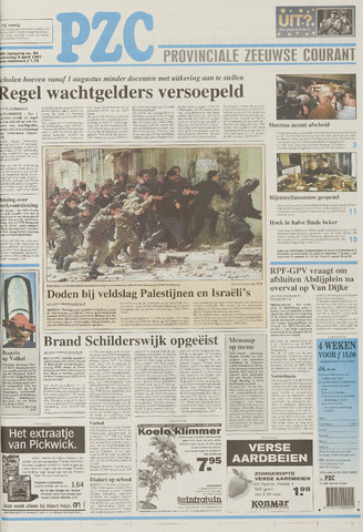 Provinciale Zeeuwse Courant 1997-04-09