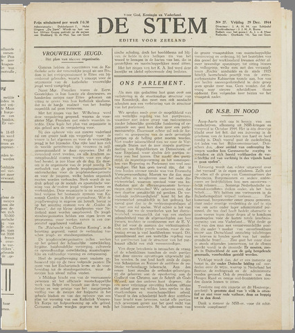de Stem 1944-12-29